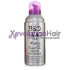 Caricamento dell immagine in corso TIGI-Bed-Head-Foxy-Curls-Extreme-Curl- Mousse- 1b275b68efc6