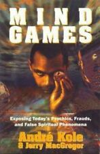 Mind Games by Jerry MacGregor and Andre Kole (2002, Paperback)