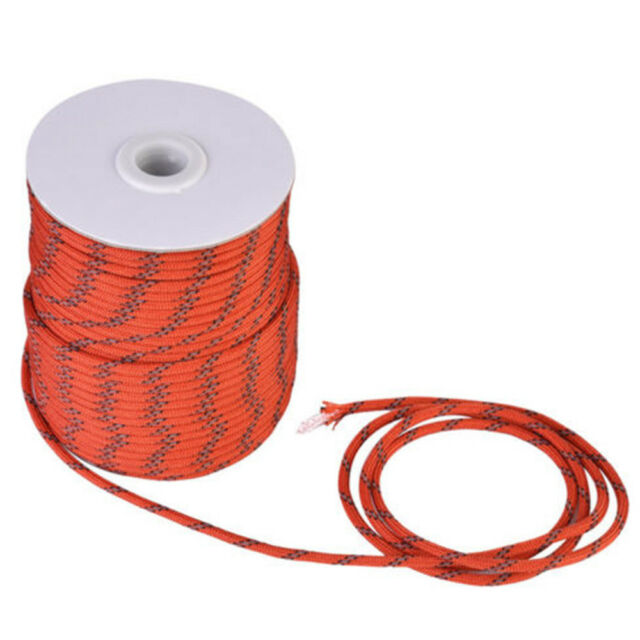 50m Reflective Tent Guyline Guy Line Rope Cord Outdoor Camping Accessories