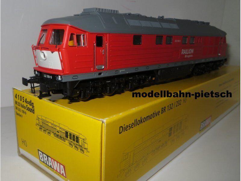 BRAWA 41054 h0 =  DIESEL DB 232 109-9 Railion, Ep. V, digital , nuovo in scatola originale