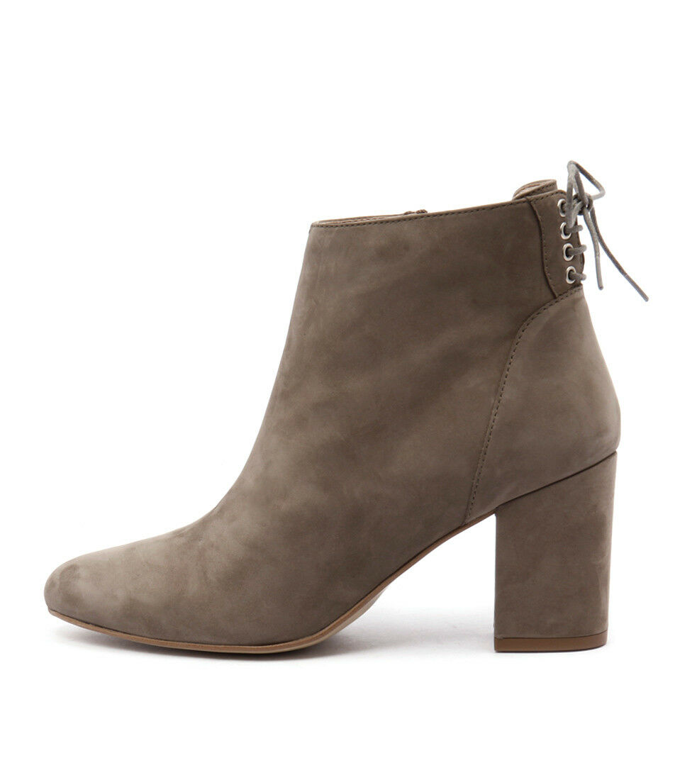 New Sofia Cruz Tully Taupe Womens Shoes Casual Boots Ankle