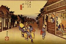 500090 Goyu Ando Hiroshige A4 Photo Print