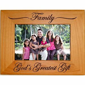 image is loading personalized family wood picture frames 4x6 5x7 8x10