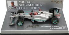 Minichamps Mercedes GP F1 W02 2011 - Michael Schumacher 1/43 Scale