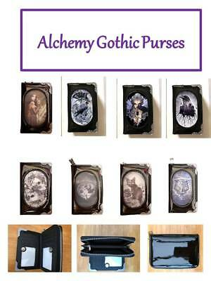 Alchemy Gothic Purses - 3d Fantasey - Stunning -black Patent