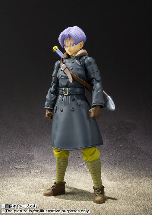 DRAGON BALL XENOVERSE TRUNKS S.H.FIGUARTS ACTION FIGURE