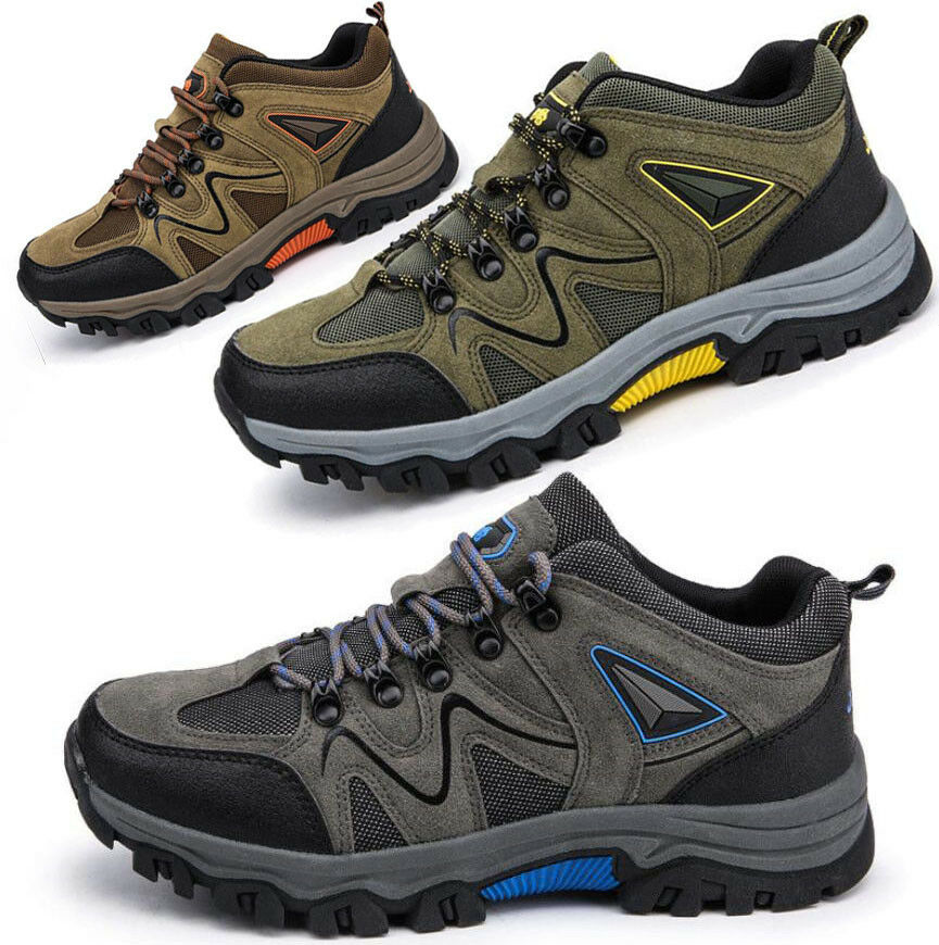 New Mens Breathable Hiking Walking shoes Trail Trekking Sneakers Outdoor shoes
