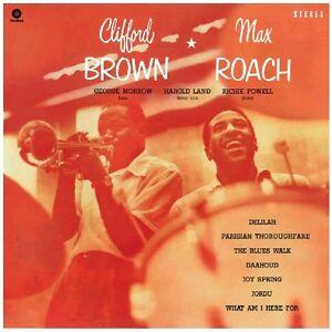 Max-Roach-Clifford-Brown-amp-Max-Roach-New-Vinyl-LP-Bonus-Track-180-Gram