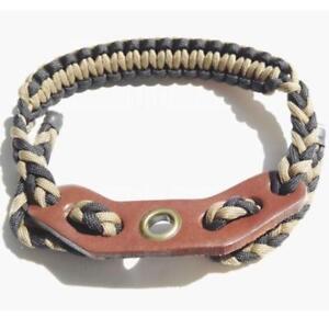 IRQ-Archery-Wrist-Sling-Nylon-Strap-Rope-Adjustable-Braided-Compound-Bow-Hunting