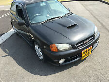 Toyota starlet glanza v 1.3 turbo black ep91 breaking for parts wheel nuts m58