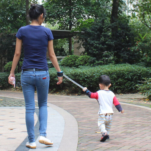Toddler Kids Baby Safety Walking Harness Anti-lost Strap Wrist Leash Hand Belt u