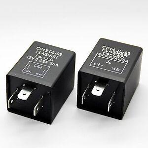 Relay-CF13-GL-02-CF14-JL-02-LED-Indicator-12V-Flasher-Indicator-Relay-3-Pole