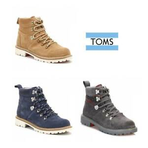 e780e718317 Details about TOMS Womens Brown / Grey / Navy Summit Hiker Boots