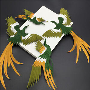 1-set-Phoenix-Bird-Iron-on-Embroidery-lace-Cloth-Paste-Fabric-Applique-Patches
