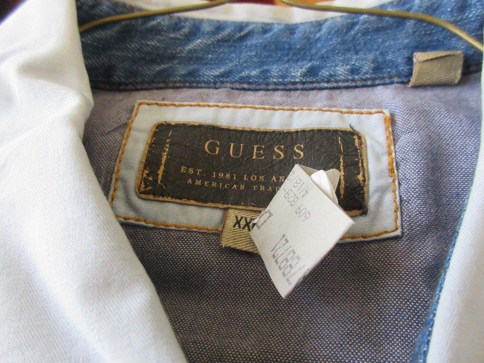 Guess , Size XXL , Long Sleeve Shirt , 100% Cotton , De