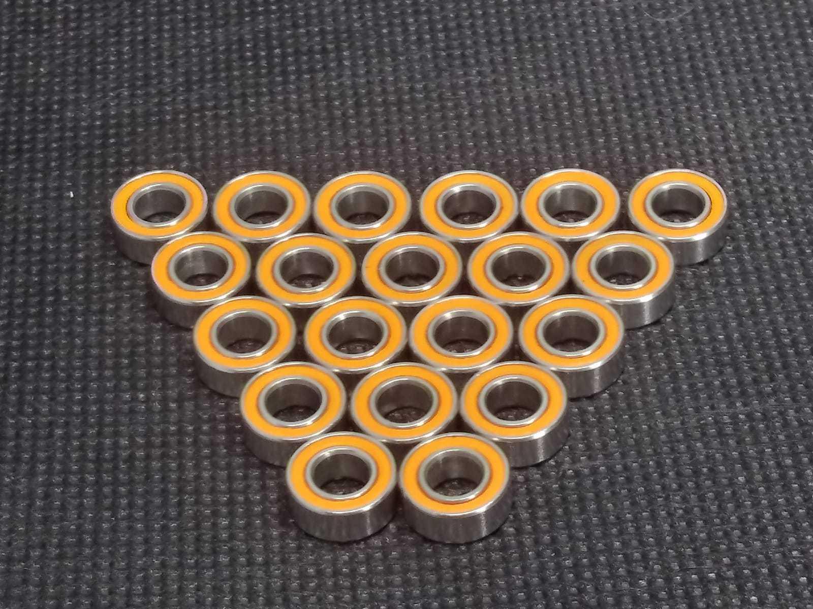 (QTY 20) 5x9x3 mm Hybrid Ceramic Ball Bearing  ABEC-7 orange ''FREE SHIPPING''  sale
