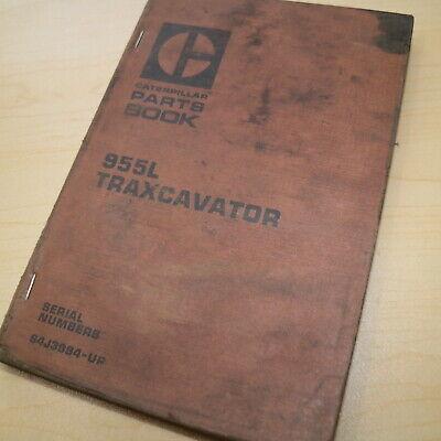 CAT Caterpillar 955L Traxcavator Parts Manual Book crawler track loader catalog