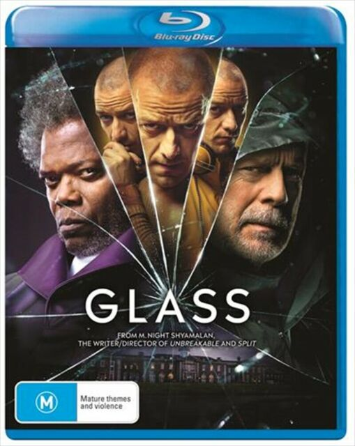 Glass (Blu-ray, 2019) NEW