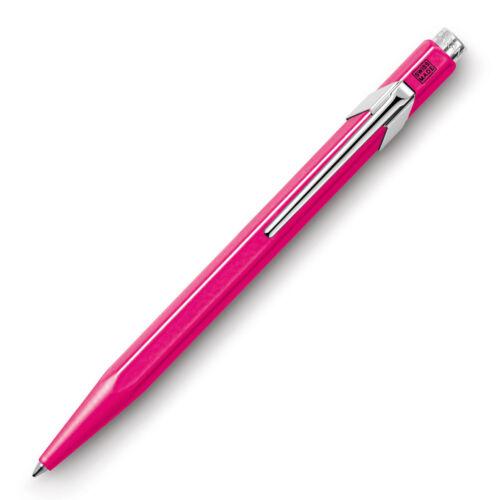 0849.090 Pink Ballpoint 849 Fluo Rosa Caran d/'Ache Kugelschreiber NEU/&OVP