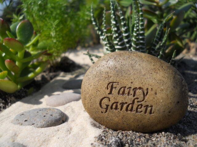 Miniature Dollhouse FAIRY GARDEN ~ Fairy Rock ~ NEW