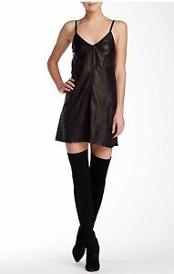 Image Is Loading Alice Olivia Leather Dress Size 4