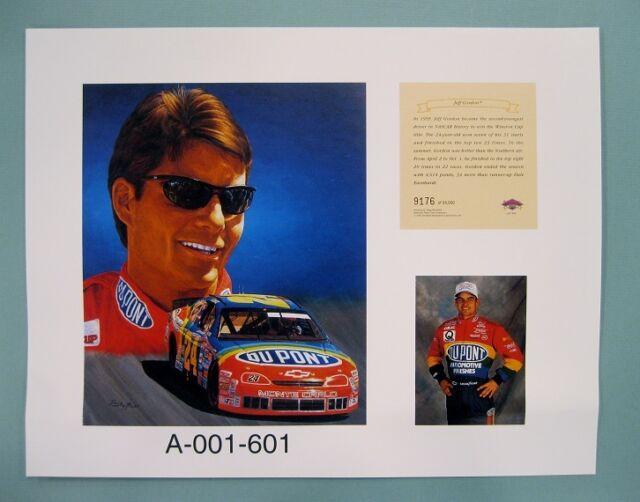 Jeff Gordon 1996 Nascar 11x14 Lithograph Print (scare)