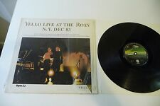 YELLO LIVE AT THE ROXY N.Y. DEC 83  MAXI 33T MONOFACE BORIS BLANK DIETER MEIER.