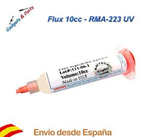 Flux-RMA-223-UV-10cc-AMTECH-Soldadura-Electronica-Nuevo