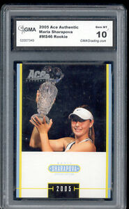 2005-Maria-Sharapova-Ace-Authentic-Tennis-Rookie-Gem-Mint-10-MS46