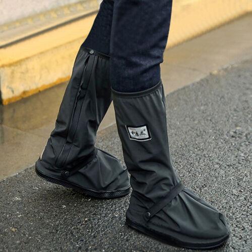 Wasserdichte Motorrad Biker Reflektierende Regen Stiefel Schuhe Schuhe Schwa le