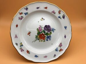 MEISSEN-Plate-9-5-8in-1-Choice-Top-Condition