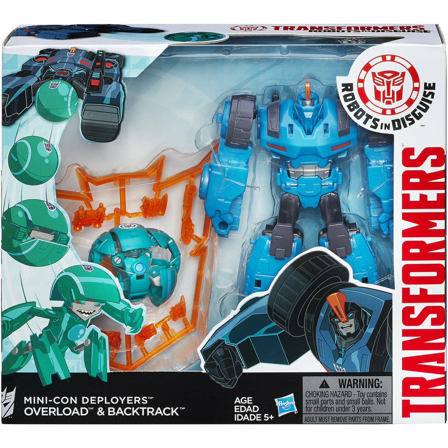 Transformers Robots In Disguise Mini-Con Deployers Action Figure  Overload