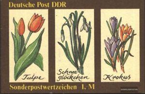 DDR-SMHD44-kompl-Ausg-postfrisch-1988-Fruehlingsblumen