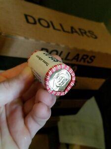 1 Bank Roll $25 2007 D Thomas Jefferson Presidential Dollar Bu Unc Denver Mint