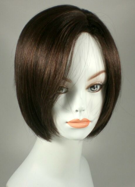 Short Blond/Black/Brown Straight Hair Page Bob Wig Wigs