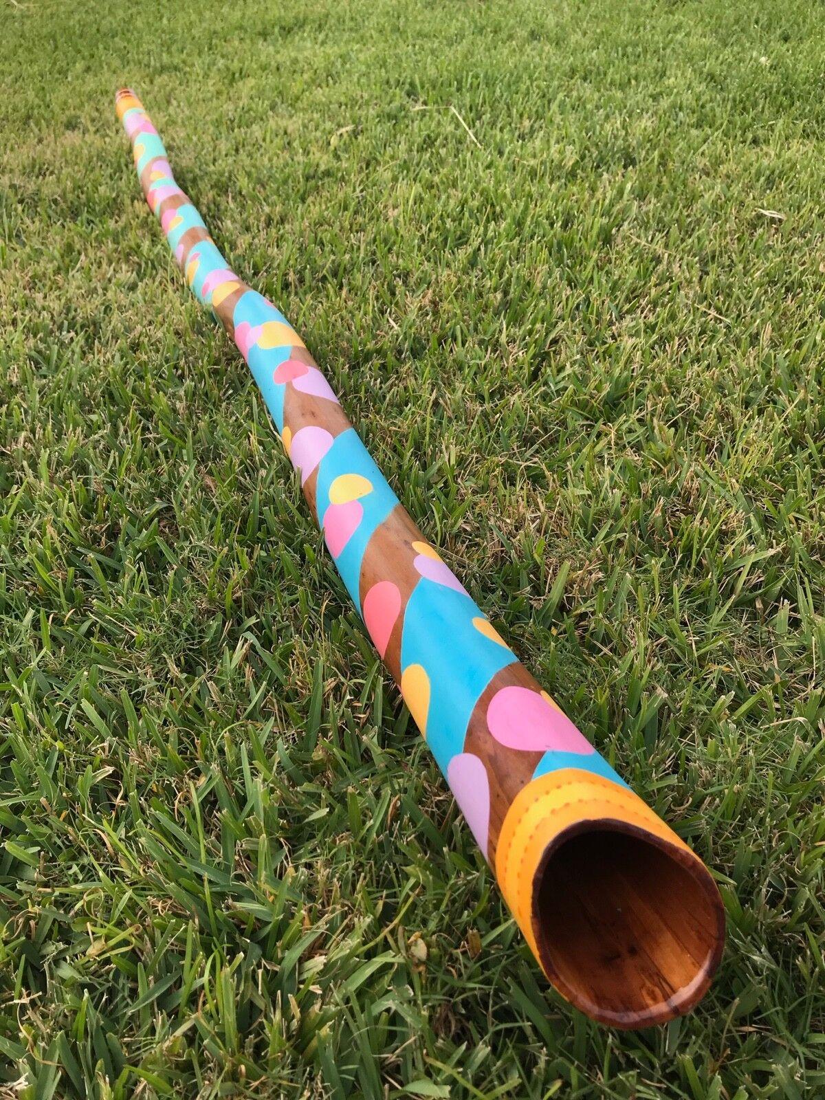 Hardwood Didgeridoo - Key of C - HD 4  Chroma  - thejmjexperience
