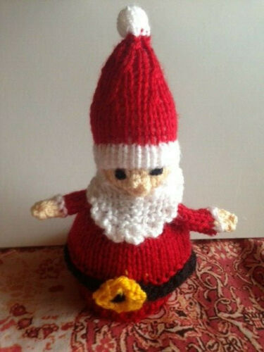 Chocolate Orange Cover FATHER CHRISTMAS    Hand Knitted