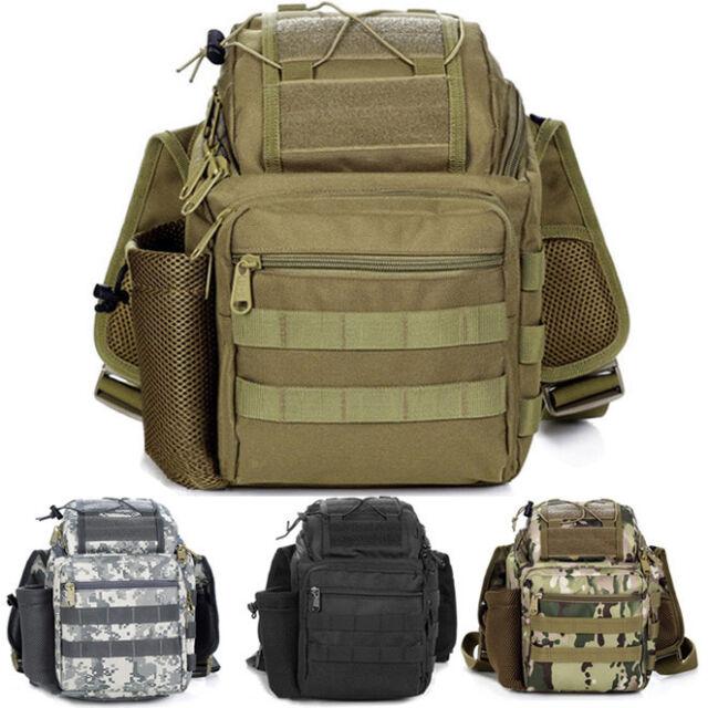 Waterproof DSLR SLR Camera Shoulder Bag Backpack Padded Tactical Travel Bag New