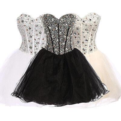Teens/Girl Short Mini Party Short Homecoming Bridesmaid Cocktail Prom Grad Dress