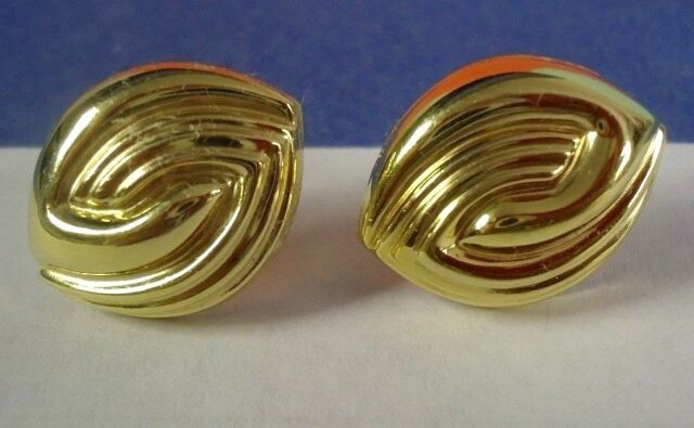 14k Yellow Gold Post Earrings For Pierced Ears Made By