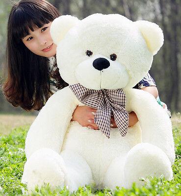 80-120CM Teddy Bear Romantic Trend Giant Big Cute Plush Stuffed Cuddly Toys