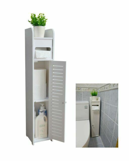 Aojezor Corner Floor Bathroom Storage, Bathroom Corner Storage Cabinet