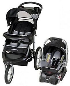 baby trend expedition travel system stroller w infant car seat base phantom ebay. Black Bedroom Furniture Sets. Home Design Ideas