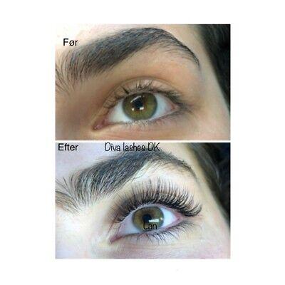 eyelash extensions sønderjylland