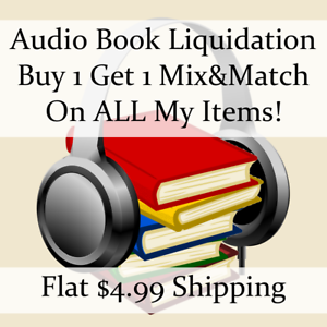 Used-Audio-Book-Liquidation-Sale-Authors-C-D-36-Buy-1-Get-1-flat-ship
