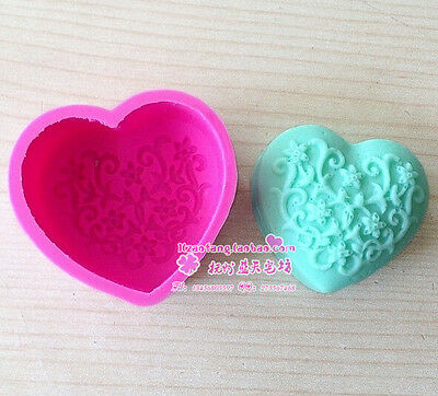Thick Silicone Floral Soap Candle Cake Chocolate Mold Mould 175 LTT