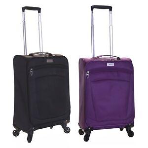 Ryanair-EasyJet-Super-Lightweight-Cabin-Hand-Suitcase-Luggage-Trolley-Bag-Case