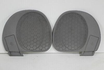 Century Rear Speaker Grill Covers Grills Light Gray Grey 97-99 Buick Regal