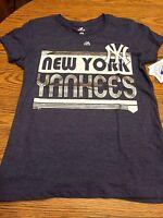 York Yankees Mlb Short Sleeve Tee, Size Medium,