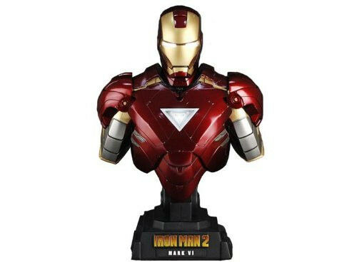 Hot Toys Iron Man 2 1 4 Scale Collectible Bust Iron Man Mark VI